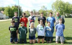 The Varsity Track Team.