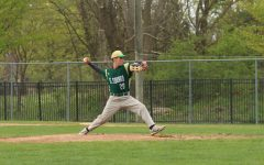 Pitcher Franke Parente prepares to strike out the other team.